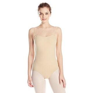 Capezio Women's Camisole Leotard, Nude, Medium
