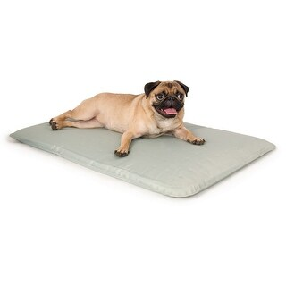 "K&H Pet Products Cool Bed III Thermoregulating Pet Bed Small Gray 17"" x 24"" x 0.5"""