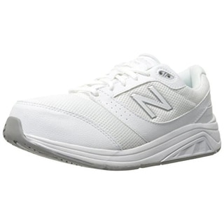 New Balance Womens Mesh Lace Up Walking Shoes