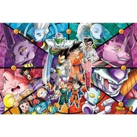 Dragon Ball Z Super Art Crystal Defend the Earth Jigsaw Puzzle