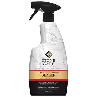 Weiman 5187 Stone Care International Granite & Stone Sealer Spray, Quart