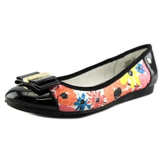 Anne Klein Sport Aricia Women  Round Toe Canvas Multi Color Flats