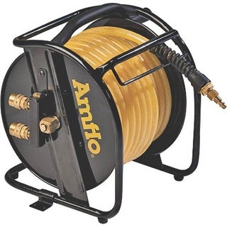 "Amflo 545HR-RET Manual Air Hose Reel 3/8"" x 75'"