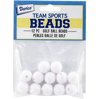 Team Sports Beads 12Mm-Golf Ball