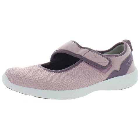 Vionic Womens Sonnet Walking Shoes Casual Padded Insole - Black - 6.5 Medium (B,M)