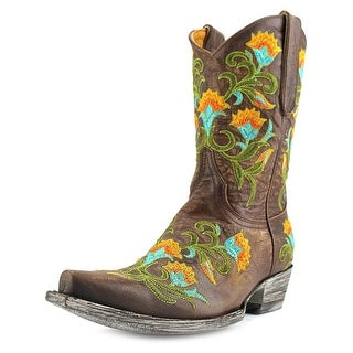 """Old Gringo Naomi 10"""" Square Toe Leather Western Boot"""