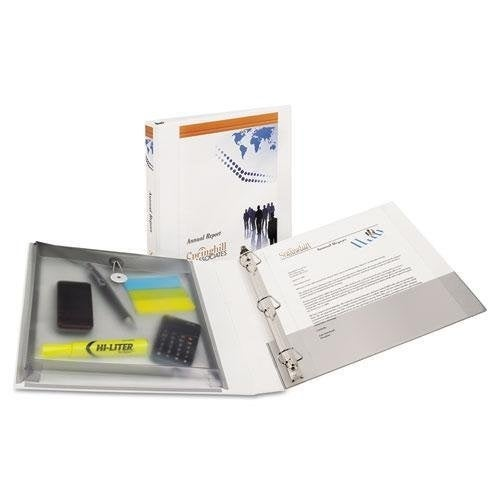 Avery 23000 White Protect and Store Binder Binder Protect&store