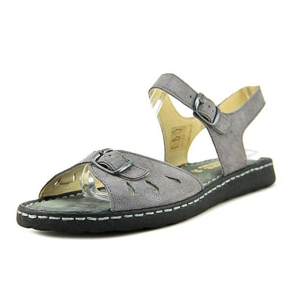La Plume Trace Women Grey Prnt Sandals