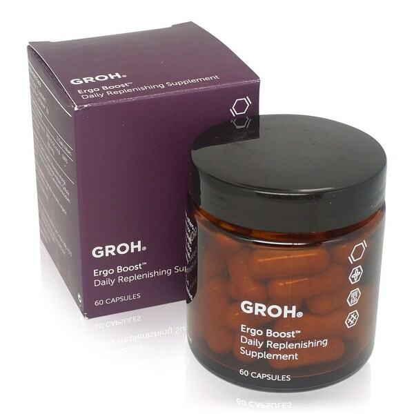 Groh Ergo Boost Daily Replenishing Supplement 60 Pk