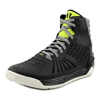 Tesh Trigger Men Round Toe Synthetic Black Basketball Shoe