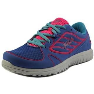 Fila Boomers Youth Round Toe Synthetic Blue Running Shoe