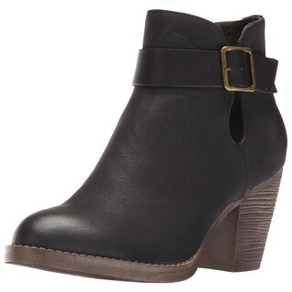 BC Footwear Women's Cuddle Ankle Bootie