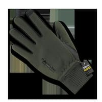 Neoprene Gloves with Cuff, Olive Drab - Medium