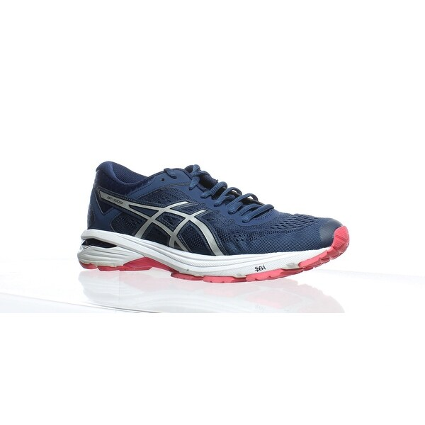 68e92f8ad637 Shop ASICS Womens Gt-1000 6 Blue Running Shoes Size 8 - Free Shipping Today  - Overstock - 27876567