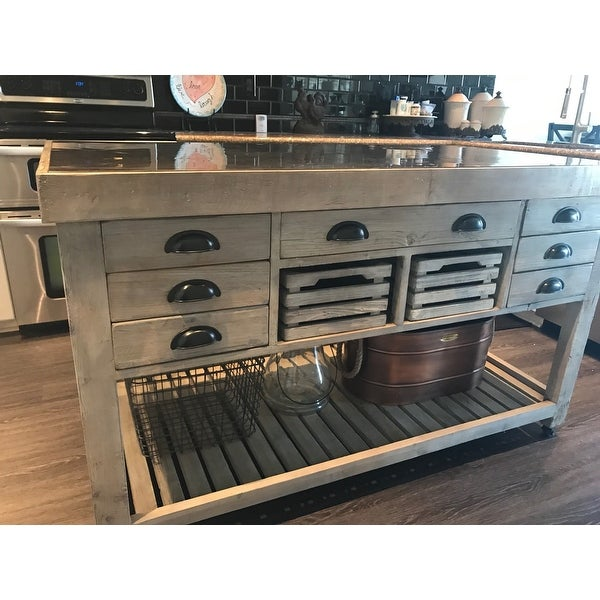 Avery Kitchen Island By Kosas Home 36hx60wx30d On Free Shipping Today 19856359