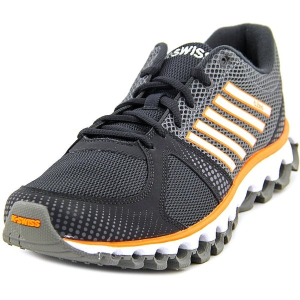 K-Swiss X-160 CMF Men  Round Toe Synthetic Black Running Shoe