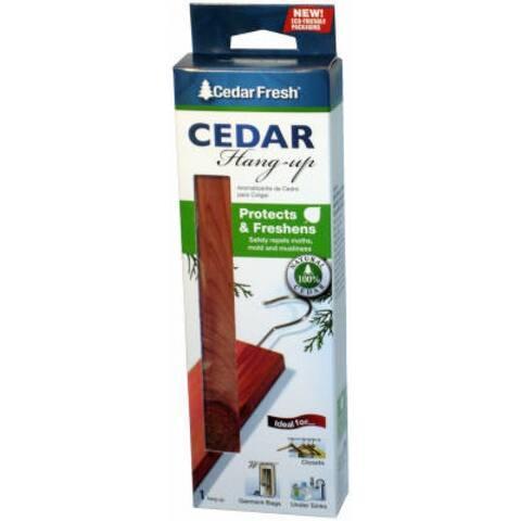 1 Piece Cedar Hang Up With Hook