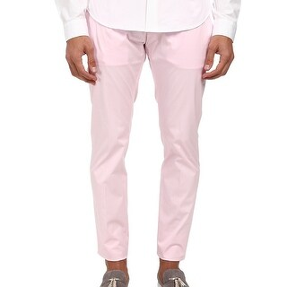 DSquared2 NEW Pink Mens Size 40X34 Tennis Ankle Slim Leg Pants