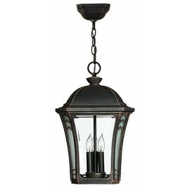 Hinkley Lighting 1332-LED 1 Light LED Outdoor Lantern Pendant from the Wabash Collection