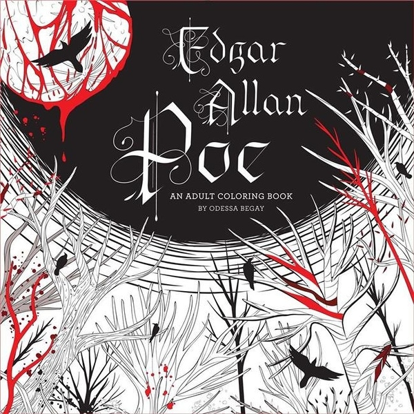 Shop Lark Books Edgar Allan Poe An Adult Coloring Book Free