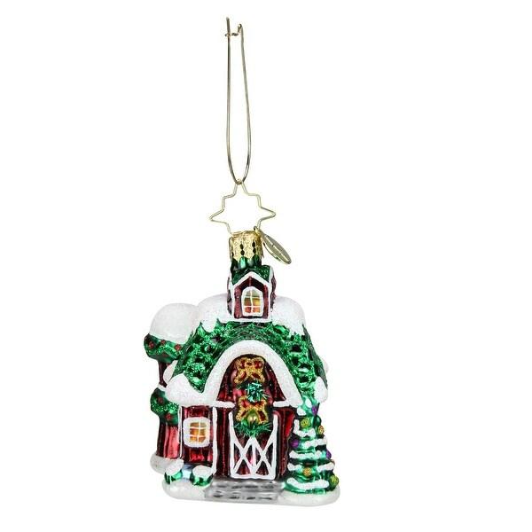 Christopher Radko Farm Fiesta Little Gem Christmas Ornament #1019192 - green