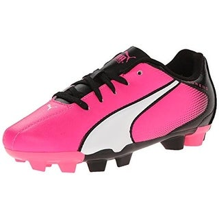 Puma Girls Adreno FG Jr Faux Leather Cleats - 6.5