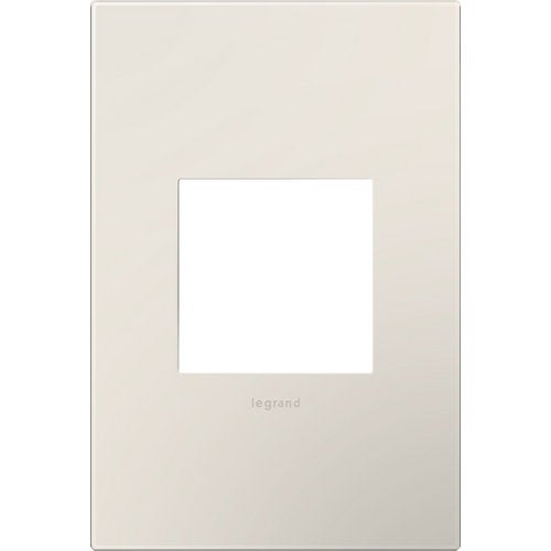 Legrand AWP1G2LA6 adorne 1 Gang Plastic Wall Plate - 4.56 Inches Wide