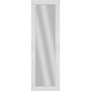 PTM Images 5-13718 53 1/2 Inch x 17 1/2 Inch Rectangular Unbeveled Wood Framed Wall Mirror - N/A