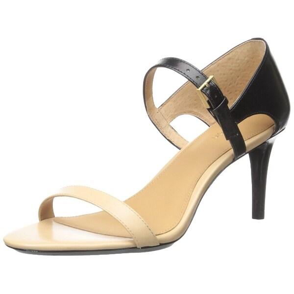 Calvin Klein Womens Luigina Open Toe Casual Ankle Strap Sandals