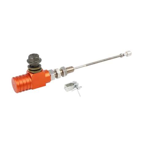 Universal Motorcycle Hydraulic Clutch Pump Orange Cylinder M10x1.25mm