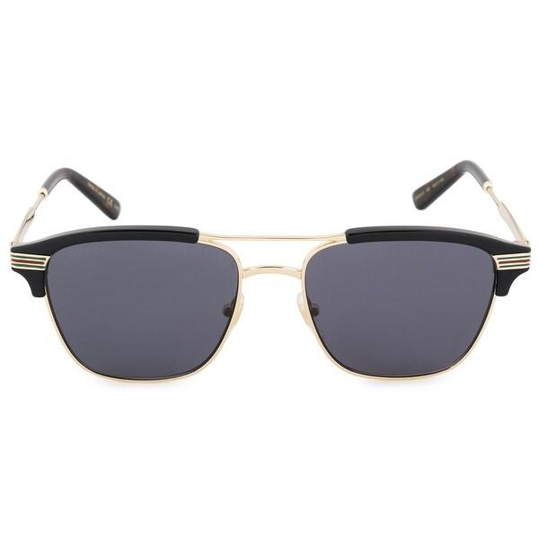 a1a03d81a7 Shop Gucci Gucci Aviator Sunglasses GG0241S 002 54 - Free Shipping ...
