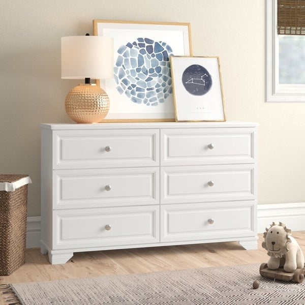 South Lake 6 Drawer Double Dresser