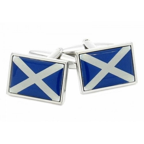 Scotland Flag Scottish Cufflinks