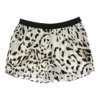 Vince Camuto Womens Chiffon Lined Casual Shorts - M