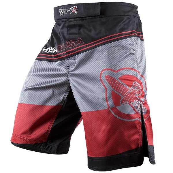 Hayabusa Kyoudo Prime MMA Fight Shorts - Red - mma boxing training bjj