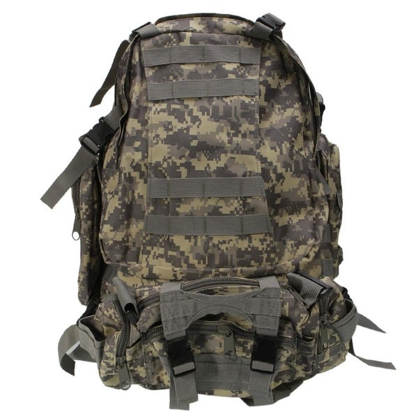 9bc676fbce9d Shop Military Style Outdoor Durable 55L Waterproof Backpack - Free Shipping  Today - Overstock - 23564031