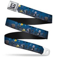Jack Expression6 Full Color Nightmare Before Christmas Jack, Zombie Duck & Seatbelt Belt