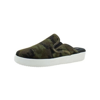 Steven By Steve Madden Womens Cody Mules Loafer Camo - 9.5 medium (b,m)