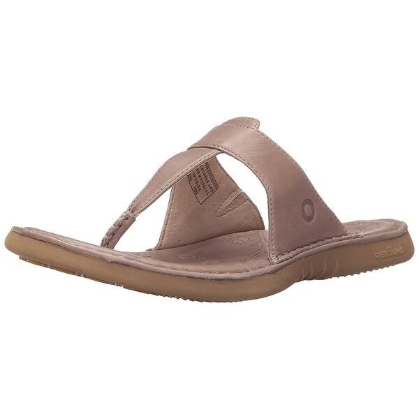 Bogs Womens Amma 3 PT Flip Leather Open Toe Casual