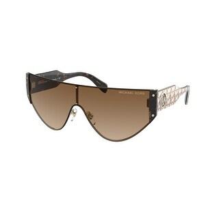 Link to Michael Kors MK1080 101413 36 Light Gold Woman Irregular Sunglasses Similar Items in Women's Sunglasses