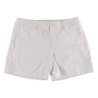 Polo Ralph Lauren Womens Casual Shorts Twill Monogram