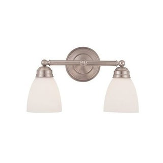 "Trans Globe Lighting 3356 Two Light Down Lighting 15.75"" Wide Bathroom Fixture (2 options available)"