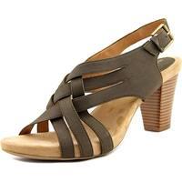 Giani Bernini Justyne Women  Open Toe Leather  Sandals