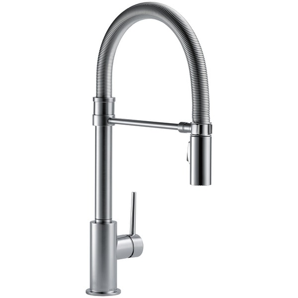 Delta 9659-DST Trinsic Pro Pre-Rinse Pull-Down Kitchen Faucet with. Opens flyout.