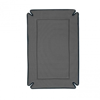 "K&H Pet Products Odor-Control Dog Crate Pad Gray 14"" x 22"" x 0.5"""