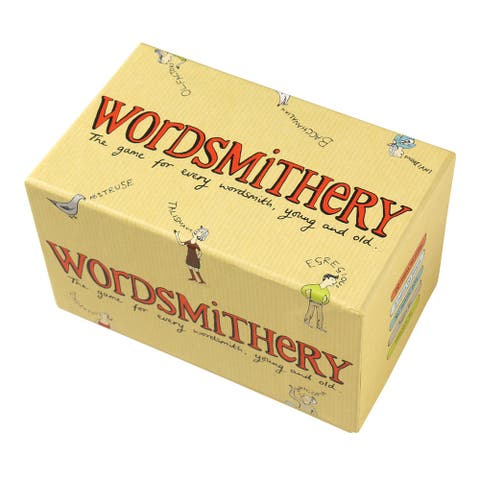 Wordsmithery Game - Party Quiz Word Definition Game - 2 Players - 4 in. x 7 in. x 4 in.