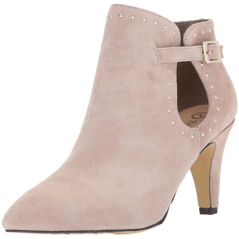 Bella Vita Womens delfina Leather Pointed Toe Ankle Fashion Boots