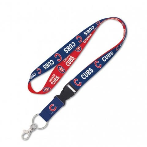 """Chicago Cubs Lanyard with Detachable Buckle New UPC - 3/4"""" W"""