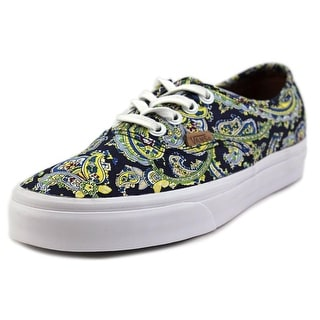 Vans Authentic + Round Toe Canvas Sneakers