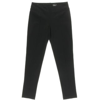 Bass Womens Yoga Pants Compression Pleated